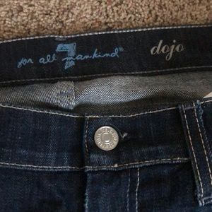 7 For All Mankind Jeans - 7 for all mankind Dojo jeans size 28 inseam:32!